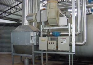 condensor + CO2